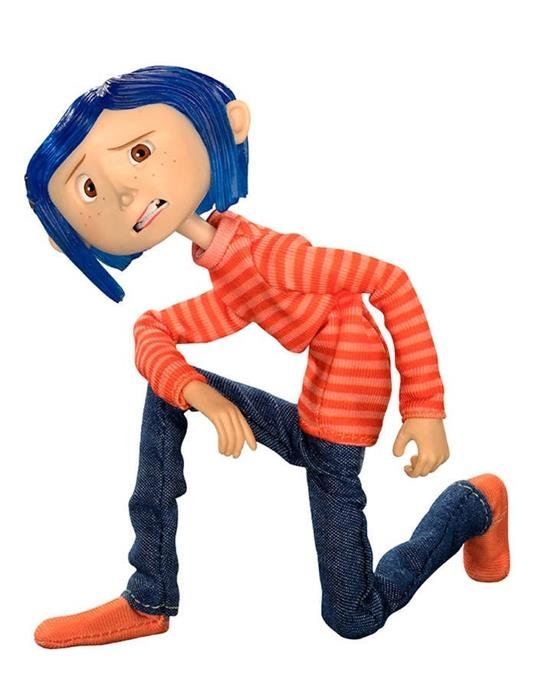 Coraline In Striped Shirt And Jeans Fig. Coraline In Striped Shirt And Jeans Fig - 3