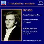 Concerto per pianoforte n.1 - Variazionisu un tema di Paganini - Rapsodie ungheresi op.79, n.1, n.2