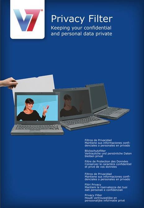 """V7 22.0"""" Filtro di protezione per PC e Notebook 16:10 - 3"""