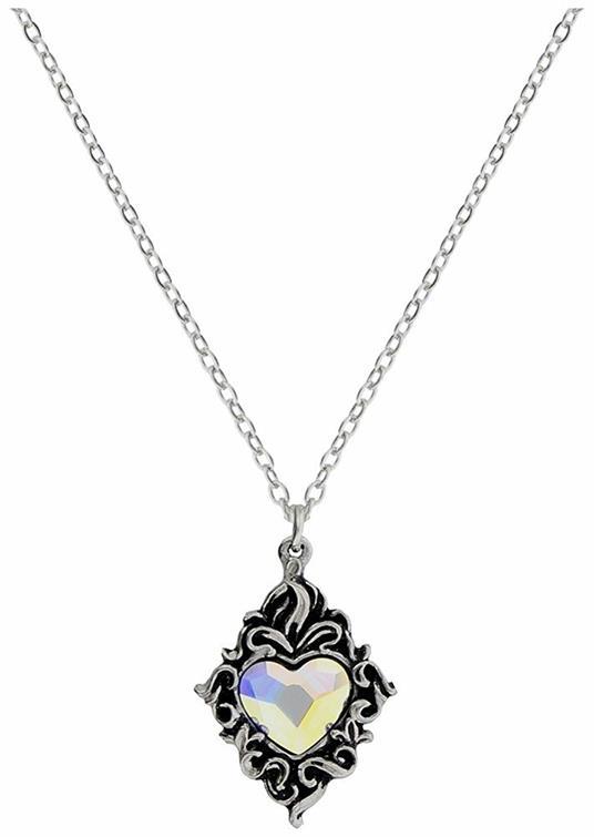 Collana Con Ciondolo Alchemy: Crystal Heart