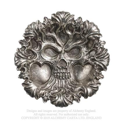 Alchemy Ciotola Decorativa Tree of Death Argento