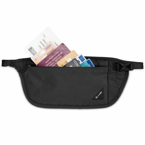 Pacsafe Coversafe V100 portafoglio Unisex Poliestere Nero - 2