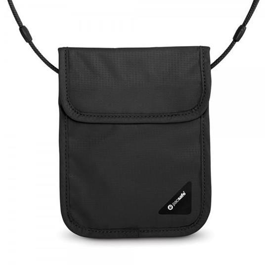 Pacsafe Coversafe X75 portafoglio Unisex Poliestere Nero