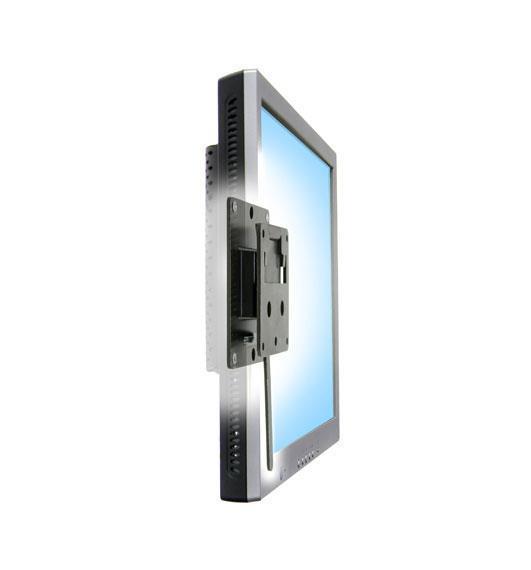 """Ergotron FX30 Fixed Wall Mount 27"""" Nero supporto da parete per tv a schermo piatto"""