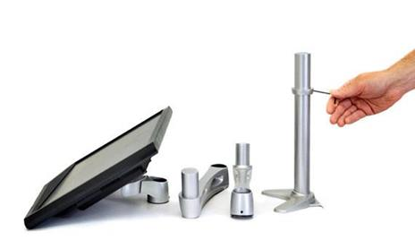 """Ergotron Neo Flex Extend LCD Arm 61 cm (24"""") - 4"""