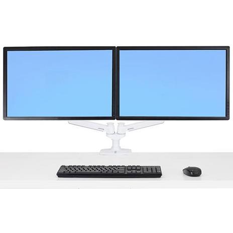 """Ergotron LX Series 45-491-216 supporto da tavolo per Tv a schermo piatto 68,6 cm (27"""") Bianco - 2"""