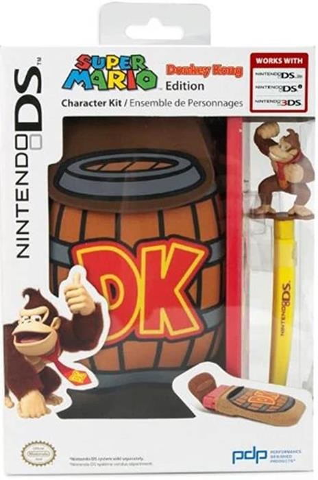 Custodia morbida di Donkey Kong per Nintendo DS/3DS/3DSXL