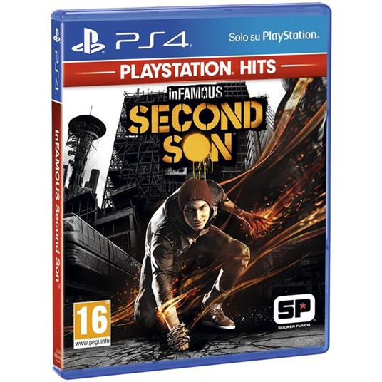 Sony inFAMOUS: Second Son (PS Hits) PlayStation 4 Basic Inglese