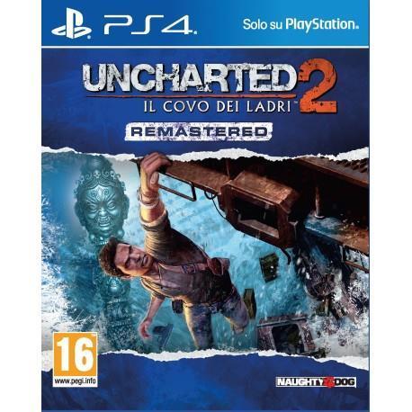 Uncharted 2:Il Covo dei Ladri Remastered - PS4