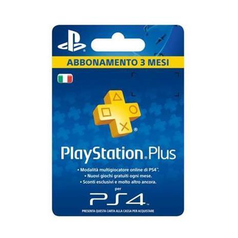Sony Playstation Plus Card Hang 90D PlayStation 4 - 2