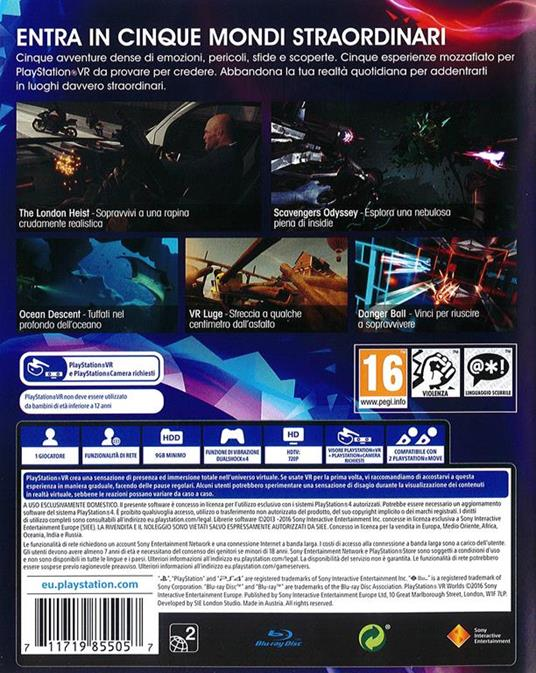 Playstation VR Worlds - PS4 - 2