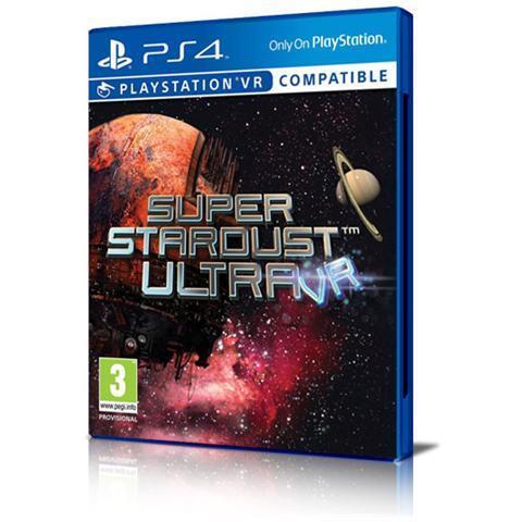 Sony Super Stardust Ultra VR, PlayStation VR PlayStation 4 Basic Inglese, ITA