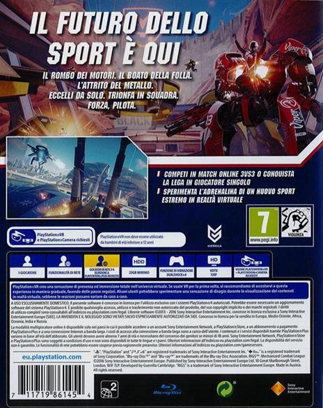Rigs - Mechanized Combat League - PS4 - 3