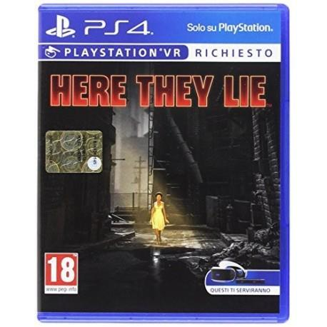 Here They Lie - PS4 - 2