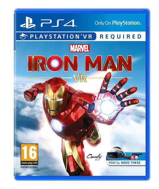 Sony Marvel's Iron Man VR PlayStation 4 Basic Inglese