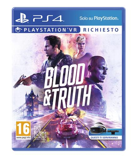 Sony Blood & Truth, PS4 PlayStation 4 Basic