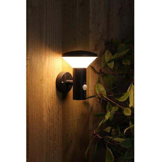 Luxform Luce LED Giardino a Parete Sensore PIR Bitburg 230 V LUX1704Z - 3