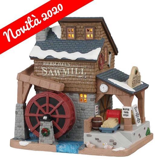 Lemax Segheria - Herschel'S Sawmill Cod 05625 Village