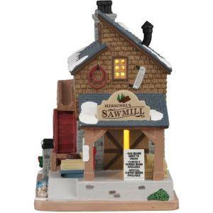 Lemax Segheria - Herschel'S Sawmill Cod 05625 Village - 2