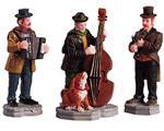 Lemax Artisti Di Strada - Streetside Trio Set Da 3 Cod 52035