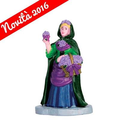 Lemax Venditore Di Fiori - Violet Vendor Cod 62452