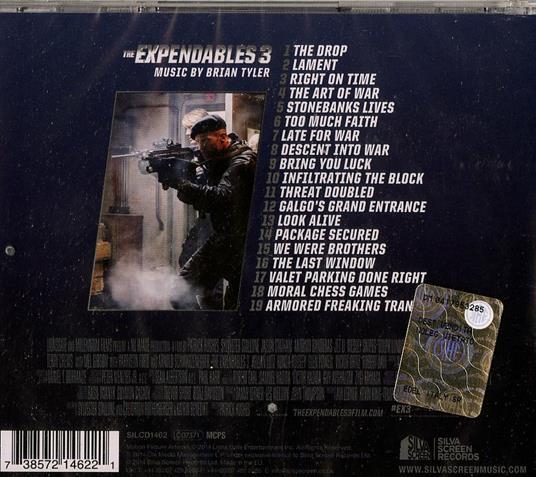The Expendables 3 (Colonna sonora) - CD Audio di Brian Tyler - 2