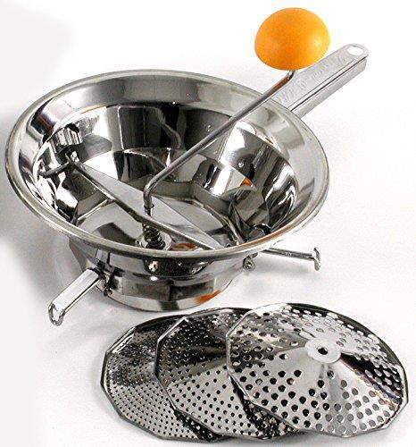Cook Case By Omac Emanuel 3 Passatutto In Acciaio Inox Diametro 24 Cm