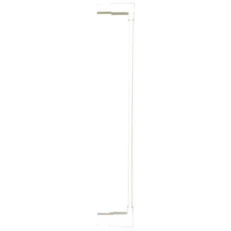 Noma Estensione Cancelletto Easy Pressure Fit 7cm Metallo Bianco 93682