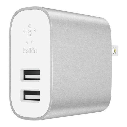 Belkin Boost↑Charge Interno Argento, Bianco - 2