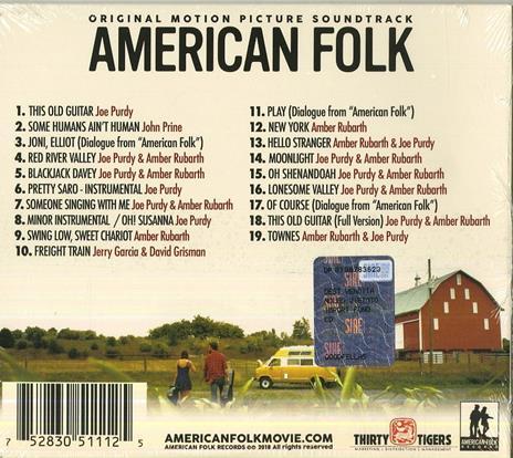 American Folk (Colonna sonora) - CD Audio - 2