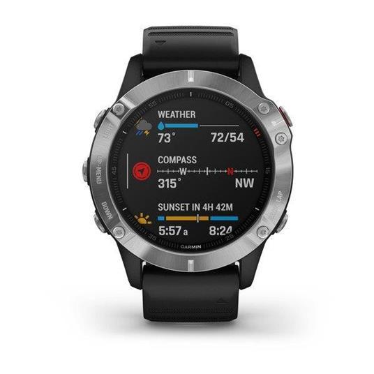 "Garmin fēnix 6 3,3 cm (1.3"") Nero, Metallico GPS (satellitare) - 2"