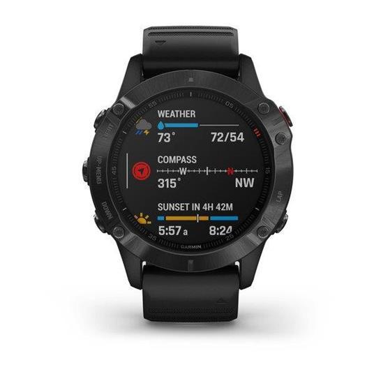 "Garmin fēnix 6 Pro 3,3 cm (1.3"") Nero GPS (satellitare)"