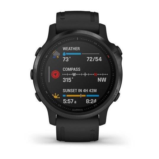 "Garmin fēnix 6S Pro 3,05 cm (1.2"") 42 mm Nero GPS (satellitare)"