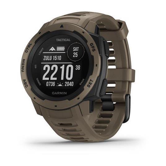 Garmin Instinct Tactical Edition Marrone GPS (satellitare)