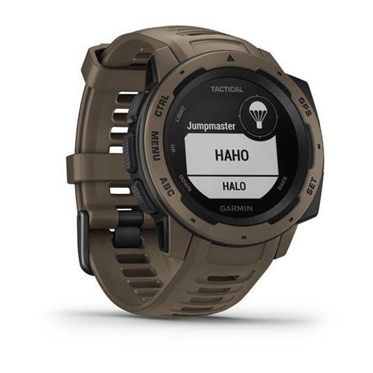 Garmin Instinct Tactical Edition Marrone GPS (satellitare) - 3