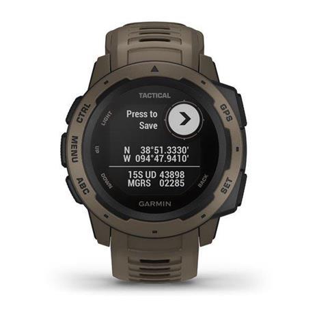 Garmin Instinct Tactical Edition Marrone GPS (satellitare) - 4