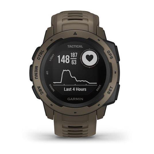 Garmin Instinct Tactical Edition Marrone GPS (satellitare) - 7