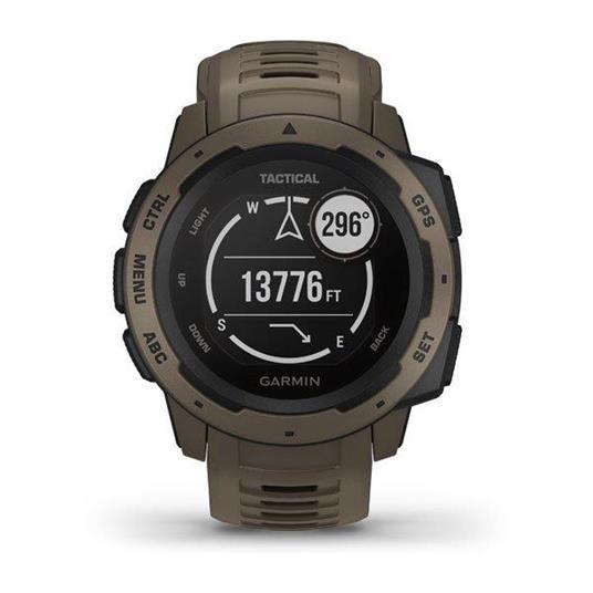 Garmin Instinct Tactical Edition Marrone GPS (satellitare) - 8