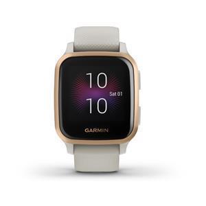 """Garmin Venu SQ Music 3,3 cm (1.3"""") 33 mm Rose Gold GPS (satellitare)"""