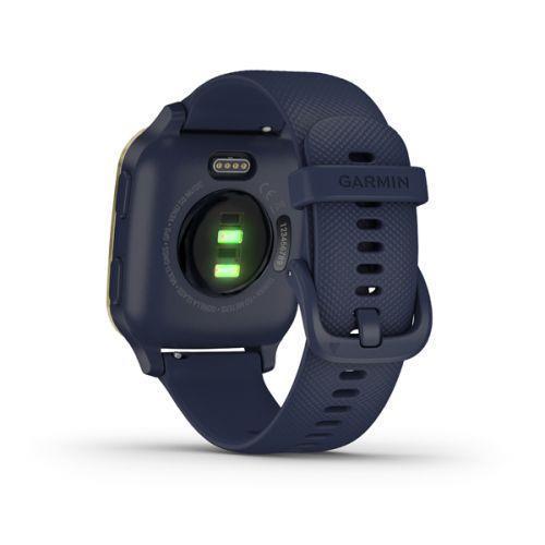 "Garmin Venu SQ Music 3,3 cm (1.3"") Oro, Blu marino GPS (satellitare) - 4"