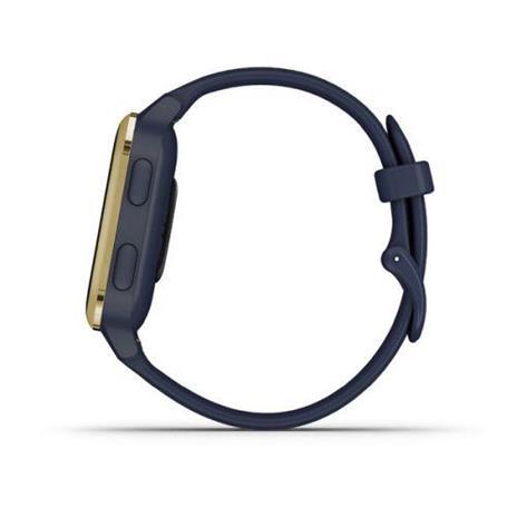 "Garmin Venu SQ Music 3,3 cm (1.3"") Oro, Blu marino GPS (satellitare) - 5"