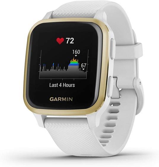 "Garmin Venu SQ LCD 3,3 cm (1.3"") Oro, Bianco GPS (satellitare)"