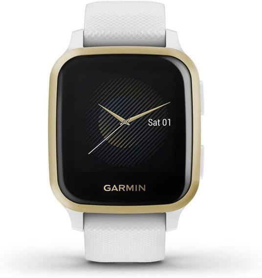 "Garmin Venu SQ LCD 3,3 cm (1.3"") Oro, Bianco GPS (satellitare) - 2"
