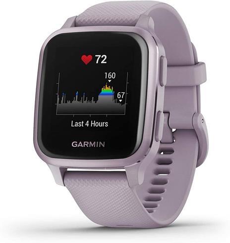"""Garmin Venu SQ LCD 3,3 cm (1.3"""") Porpora GPS (satellitare)"""