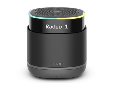 Pure StreamR Portatile Analogico e digitale Nero