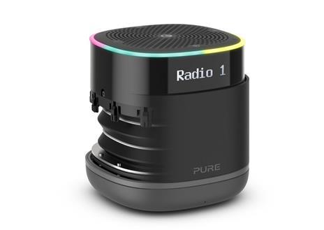 Pure StreamR Portatile Analogico e digitale Nero - 3