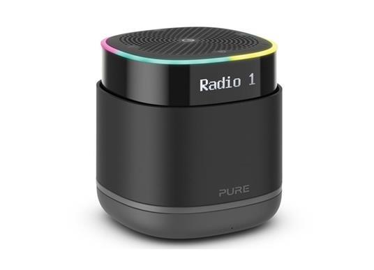 Pure StreamR Portatile Analogico e digitale Nero - 6