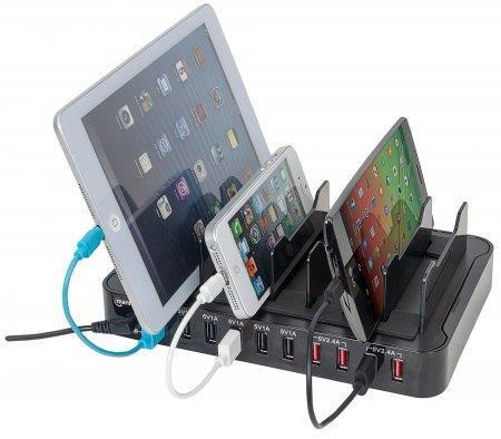 Manhattan 180009 Caricabatterie per dispositivi mobili Nero Interno - 2