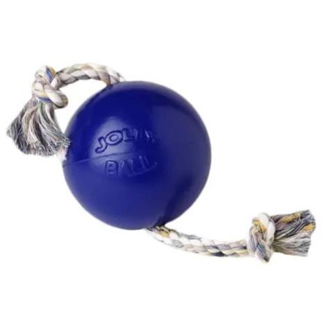 Jolly Pets Palla Romp-n-Roll Giocattolo per Cani 10 cm Blu