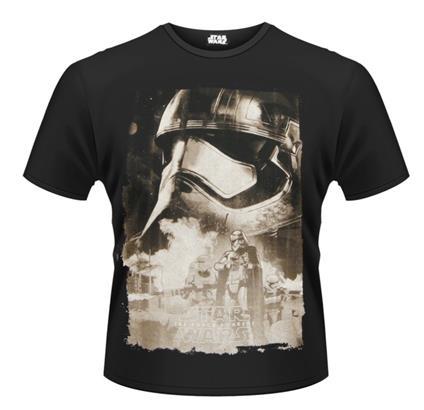T-Shirt unisex Star Wars The Force Awakens. Captain Phasma Poster